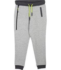 pantalón buzo básico cierre gris pillin