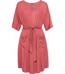 abito in jersey con cintura e tasche (rosa) - rainbow
