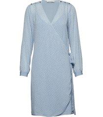 dress kort klänning blå sofie schnoor
