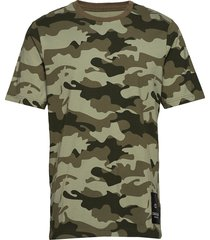 short sleeve t-shirt t-shirts short-sleeved grön calvin klein performance