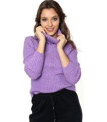 sweater violeta 47 street