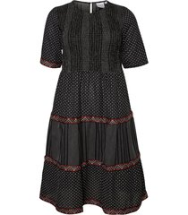 klänning jrjelis 2/4 sleeve midi dress