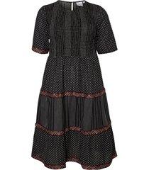 klänning jrjelis 2/4 sleeve midi dress