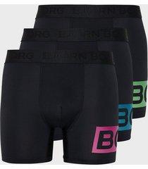 björn borg per shorts boxershorts black/green