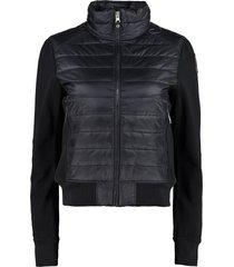 parajumpers rosy padded panel sweatshirt-jacket