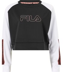 sweatshirt women ahuva cropped longsleeve shirt