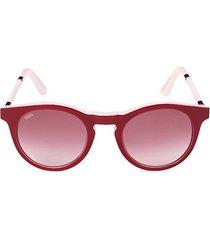 49mm oval sunglasses