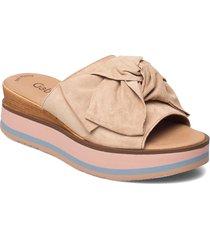 pantolette shoes summer shoes flat sandals creme gabor