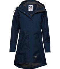 mølster l jacket outerwear sport jackets light/summer jacket blå kari traa