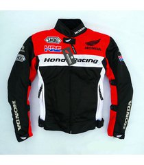 honda hrc breathable mesh durable riding jacket clothes safety accessory