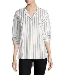 poni striped blouse