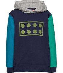 lwsam 301 - sweatshirt hoodie blå lego wear