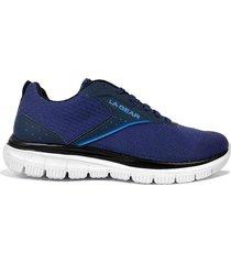zapatilla azul la gear flex trainer