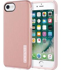 estuche protector antichoque incipio dualpro shine iphone 7 - rosado