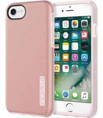 estuche protector antichoque incipio dualpro shine iphone 7 - rosado