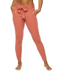 women's felina voyage belted jogger, size x-large - coral