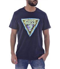 t-shirt en coton bio à gros logo