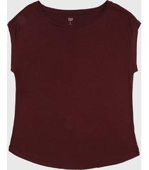 camiseta vinotinto gap