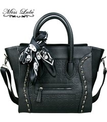 women-pu-leather-celebrity-smile-face-skull-scarf-handbag-cross-body-shoulder-sa
