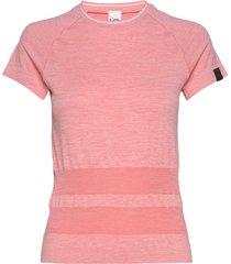 solveig tee t-shirts & tops short-sleeved rosa kari traa