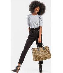 lanna paperbag jeans - black