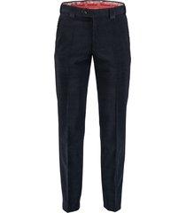 meyer roma 1150239000/18 - meyer broek donkerblauw 55% polyester / 42% scheerwol / 3% elastaan - meyer broek donkerblauw 55% polyester / 42% scheerwol