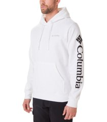 columbia men's logo graphic hoodie