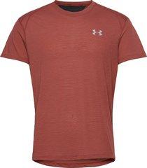 ua streaker 2.0 shortsleeve t-shirts short-sleeved röd under armour