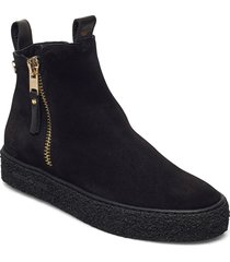 mount v. zip shoes boots ankle boots ankle boot - flat svart canada snow