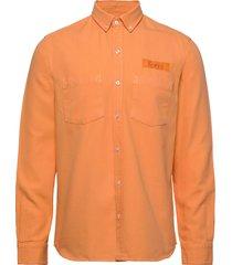bear shirt överskjorta orange forét
