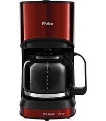 cafeteira philco pcf41 inox red, 30 cafés - 110 volts