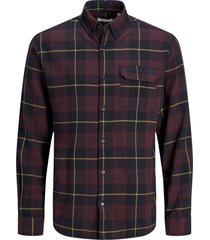 jack & jones overhemd bordeaux plus size