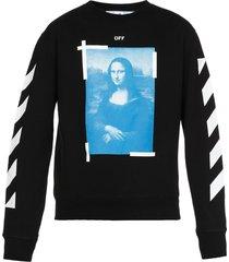 off-white blue monnalisa sweatshirt