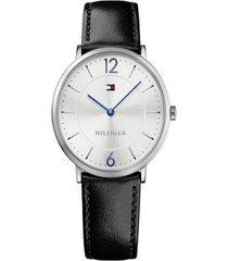 reloj tommy hilfiger modelo ultra slim - multi branded negro hombre