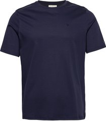 fram basic tee t-shirts short-sleeved blå fram
