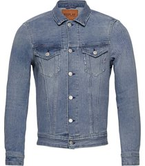 jacket jeansjack denimjack blauw replay