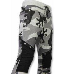 enos camouflage broek grijs