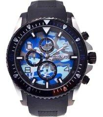 reloj virox hombre r018140-56 análogo bg camuflado azul