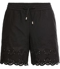 shorts con pizzo (nero) - bodyflirt