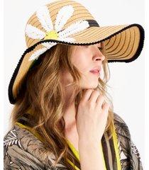 betsey johnson miss daisy floppy hat