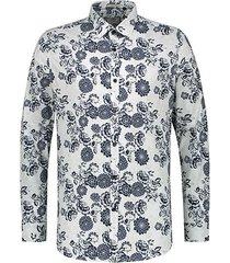 dstrezzed overhemd wit met print
