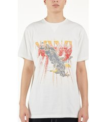 nana judy men's mid west vintage-like tee with front print