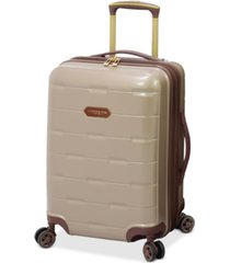 """london fog brentwood 20"""" hardside carry-on luggage, created for macy's"""