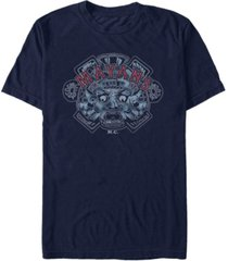 mayans men's m.c classic airbrushed ancient symbol short sleeve t-shirt