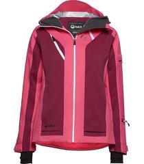 podium w dx ski jacket outerwear sport jackets padded jacket rood halti