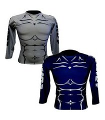 rashguard armor fight spartan body.