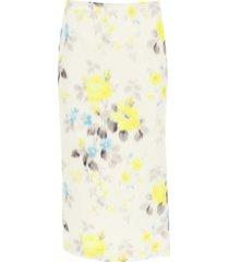 blumarine printed skirt