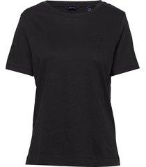 original ss t-shirt t-shirts & tops short-sleeved svart gant