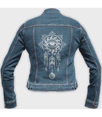 kurtka jeansowa damska dreamcatcher