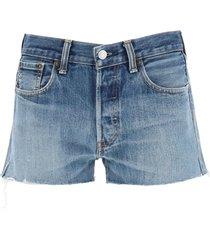 re/done levis denim shorts